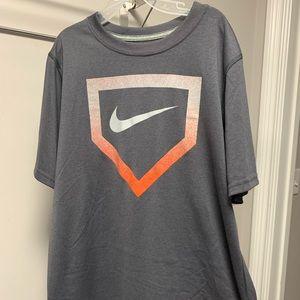 Nike Baseball Short Sleeve Tee - Boys L